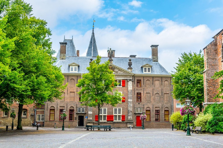 Gravensteen, a formal prison in Leiden, Netherlands