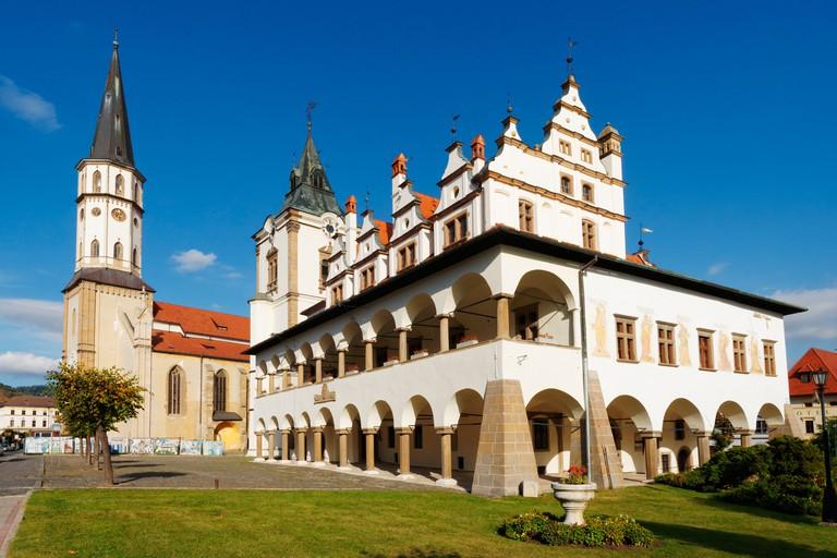 The Town Hall, Levoca, Slovakia