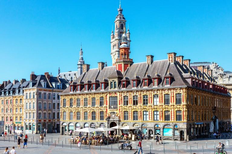 La Vielle Bourse de Lille, originally the Chamber of Commerce building Lille_PJ1W57