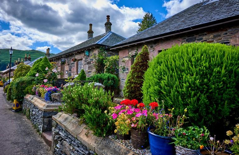 The Village of Luss in Scotland W29G1W