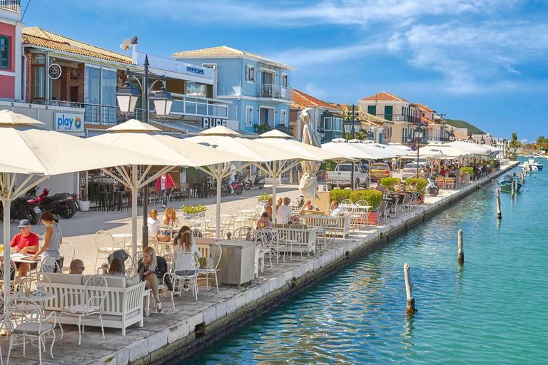 Lefkada town, Lefkada Island, Greece
