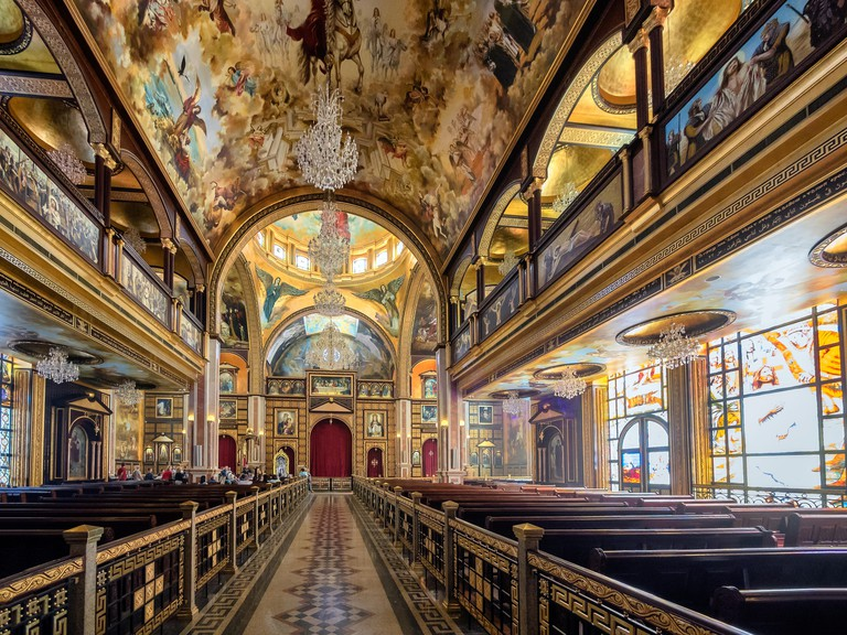 The Heavenly Cathedral in Sharm El Sheikh, Sinai Egypt