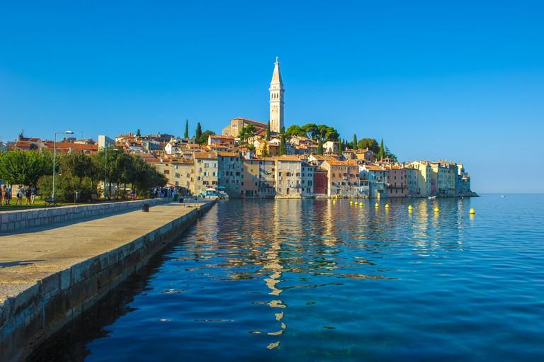 Old town of Rovinj, Istrian Peninsula, Croatia. Image shot 11/2016. Exact date unknown.