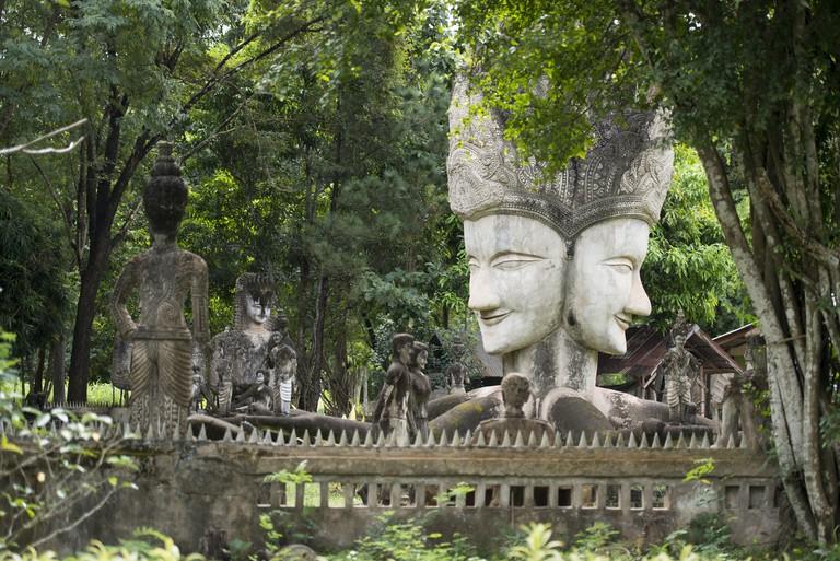 M4BECF THAILAND ISAN NONG KHAI SALA KAEW KU SCULPTURE PARK