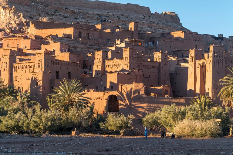 Kasbah Ait-Ben-Haddou, province of Ouarzazate, Souss-Massa-Draa, Morocco