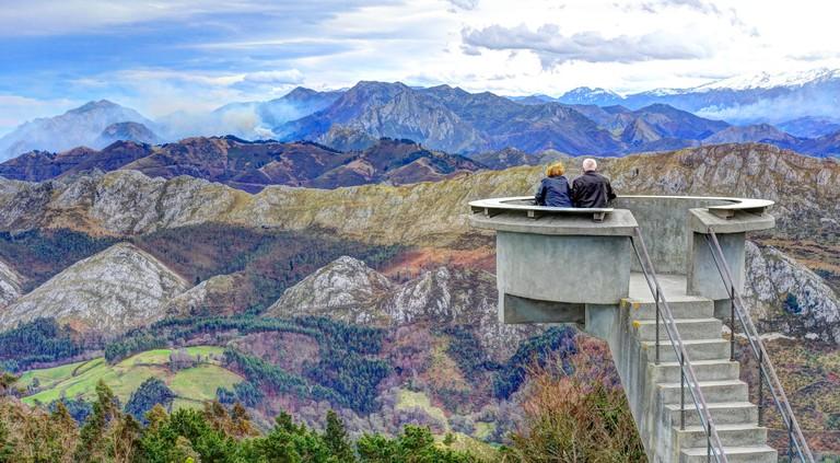 Amazing views from El Fitu Viewpoint (Mirador del Fitu), Asturias