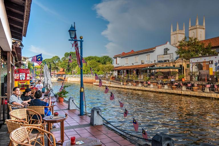 Malacca River, Malacca City, Malaysia_PW6TDC