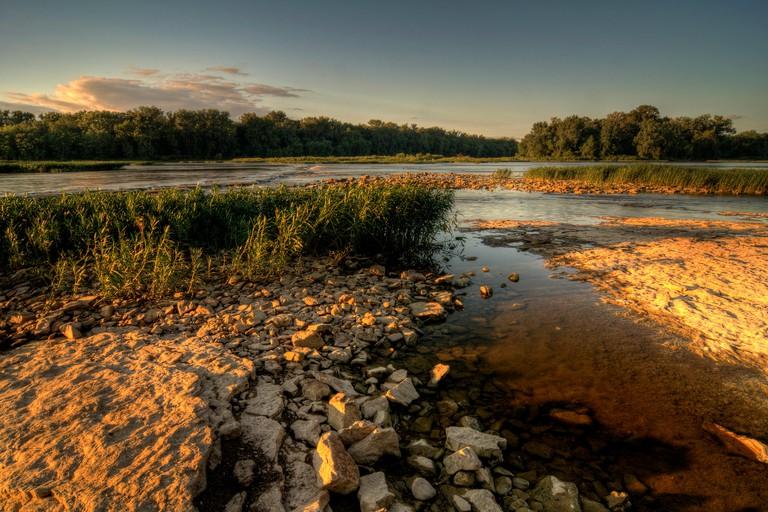Maumee River, Ohio.