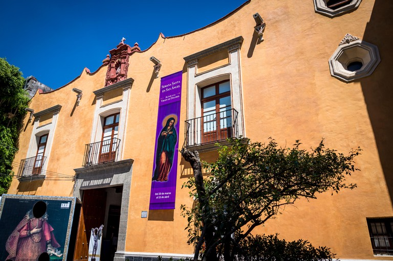 Museo Casa del Risco, 17th century mansion, Mexico City, Mexico