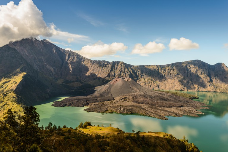 Mt Rinjani from the western side of the crater G30PRN