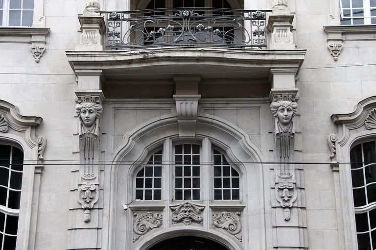 The Writers House in Tbilisi which was built in the art nouveau style