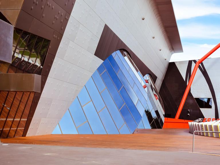 Canberra, Australia - Jan. 25, 2017: Architecture, National Museum of Australia Building, Canberra, Australia.