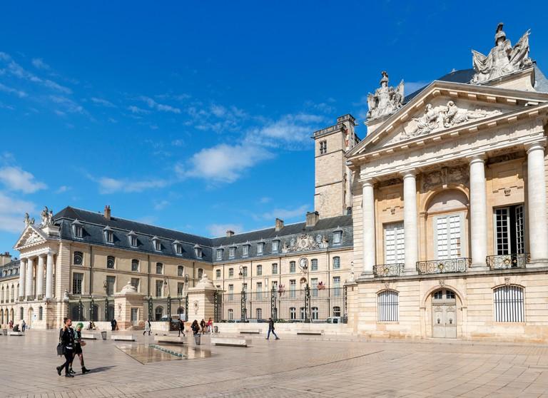 Dijon, France. Palace of the Dukes of Burgunady, housing the Musee des Beaux Arts, Place de la Liberation, Dijon, Cote-d'Or, Burgundy, France