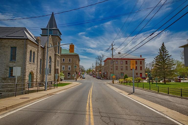 Downtown Merrickville, Ontario