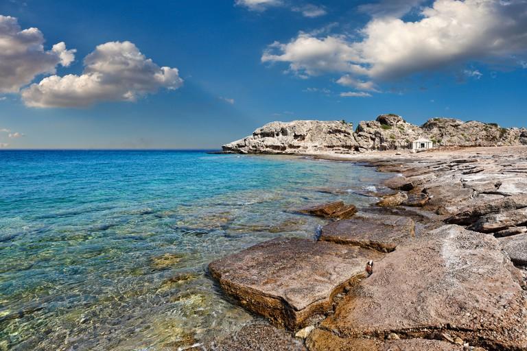Mylokopi Beach in Corinthia, Greece DW8TP4