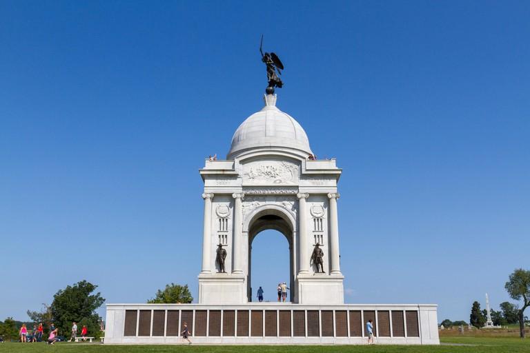 State of Pennsylvania Monument, Gettysburg National Military Park, Pennsylvania, United States. KYTYT2