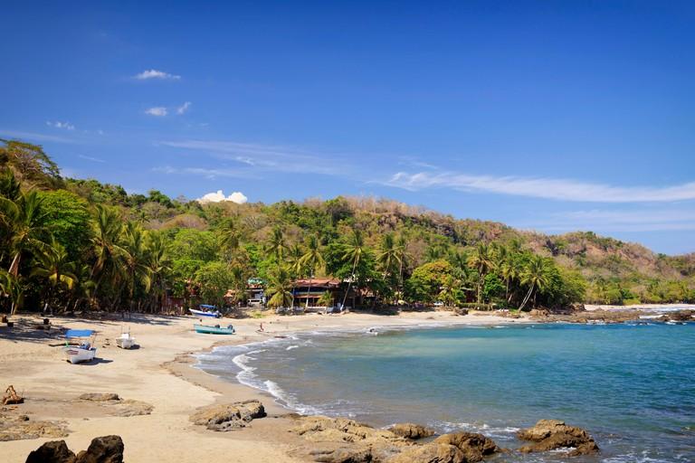 Costa Rica, Guanacaste, Nicoya Peninsula, Montezuma, Montezuma Beach