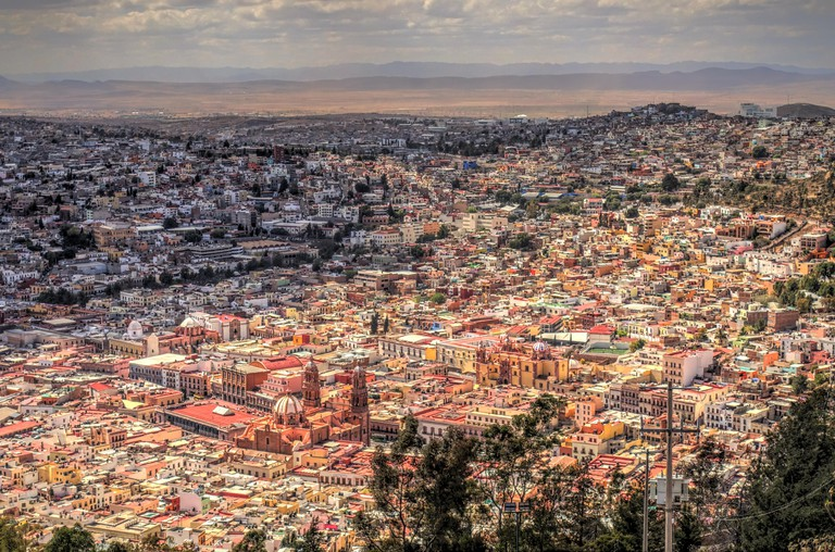 Zacatecas cityscape, Mexico