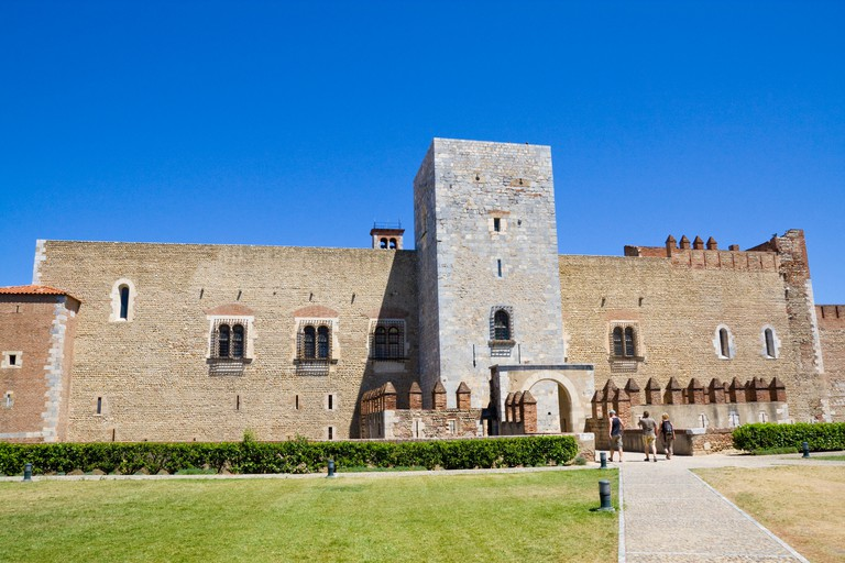 The Palace of the Kings of Majorca at Perpignan / Southern France
