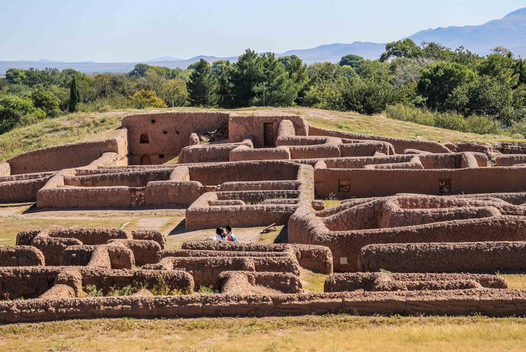 archaeological site of Paquime Casas Grandes in Chihuahua.Paquime is an archaeological zone of Paquime Culture.World Heritage Site by UNESCO. pre