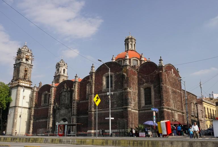 Iglesia de San Hipolito y San Casiano, Mexico City, Mexico T491FK