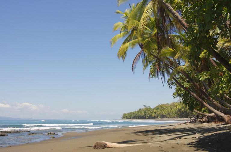 Beach at Pavones Costa Rica