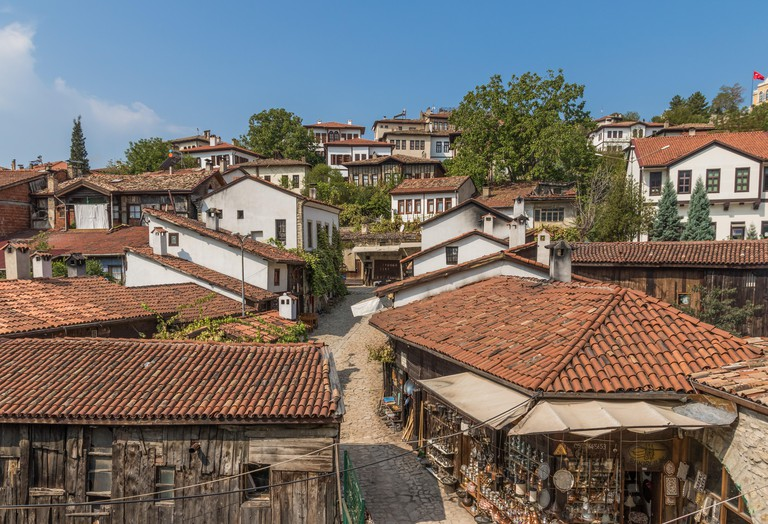 Safranbolu, Turkey - a Unesco World Heritage site, Safranbolu is known the typical Ottoman buildings. Here in particular a glimpse at the Old Town