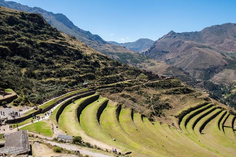 Peru,  Pisac ruins