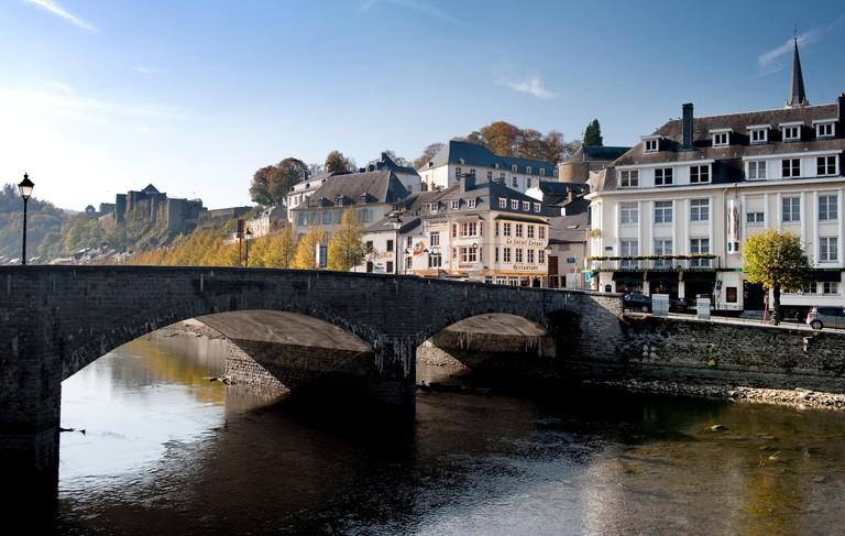 Impressions of the Walloon city Bouillon (Belgium, 23/10/2011)