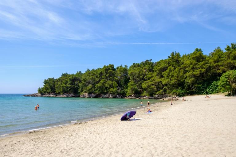 Plavi Horizonti beach, Montenegro