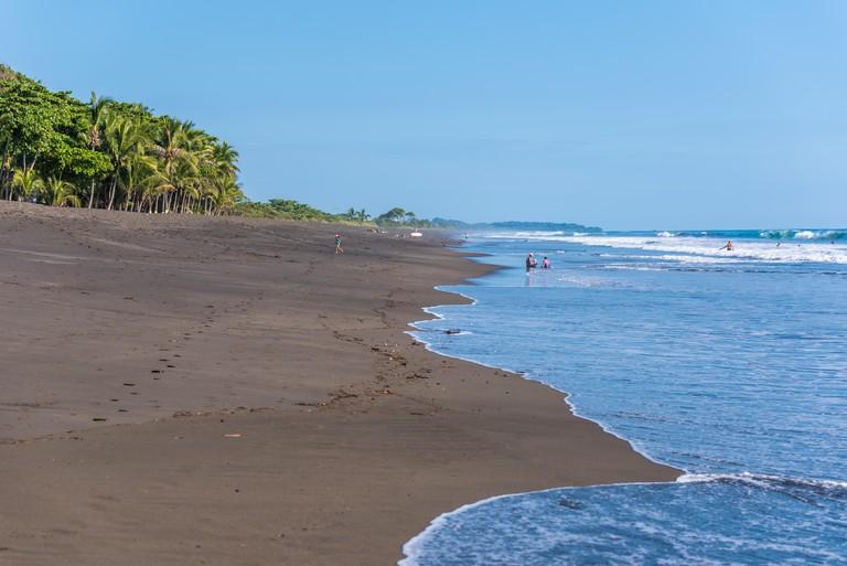 Playa hermosa en Costa Rica - pacific coast