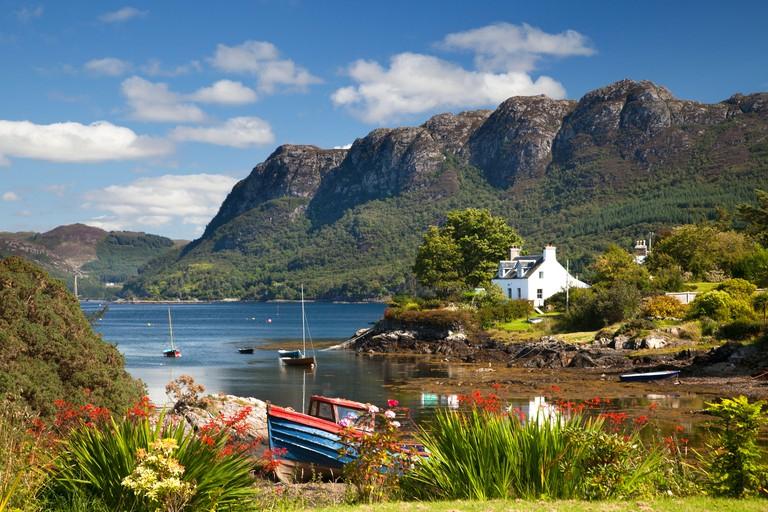 Plockton, Lochalsh, Highlands of Scotland DR3HTW