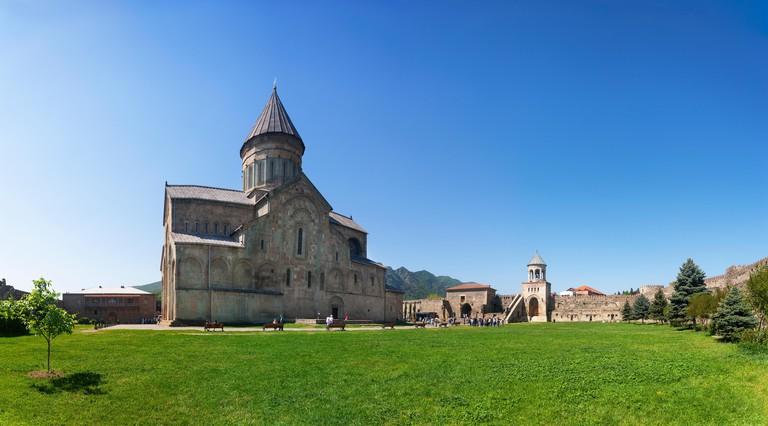 Georgia, Mtskheta, Svetitskhoveli Cathedral