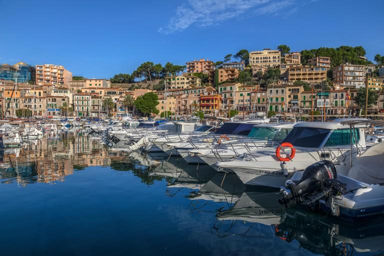 Port de Soller, Mallorca, Balearic Islands, Spain, Europe