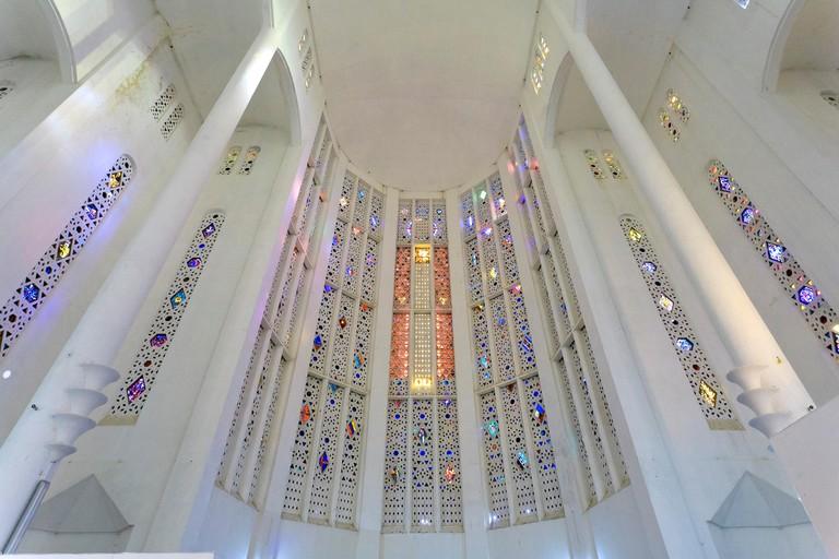 Morocco, Casablanca, Cathedral du Sacre Coeur