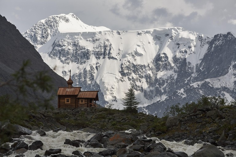 Mount Belukha, also spelled Belucha, Russian Gora Belukha, one of the Katun Mountains, a series of snowcapped peaks in Russia. The highest mountain in