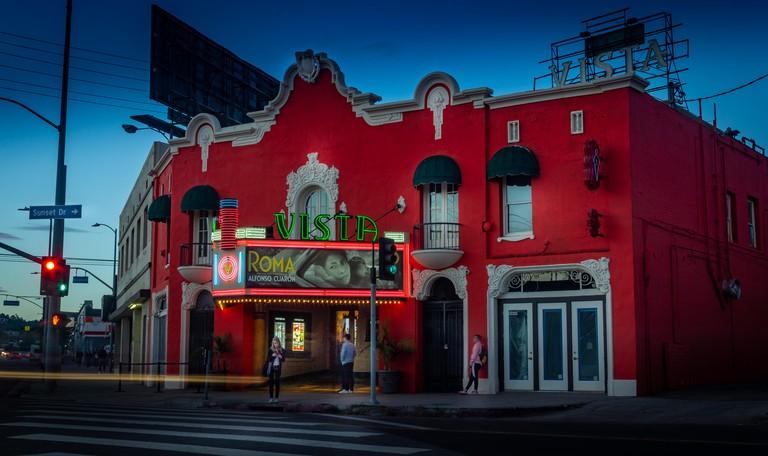 Vista Theater, Hollywood California
