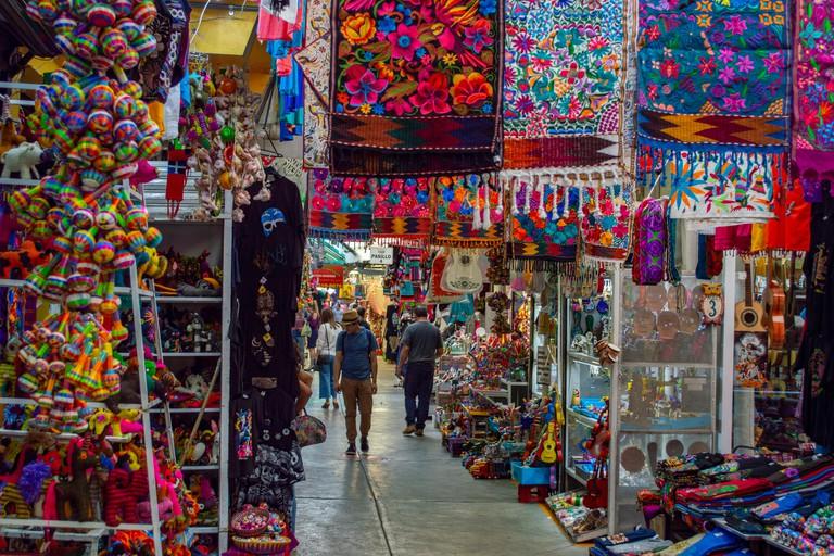 La Ciudadela / Flea market in Mexico City, Mexico
