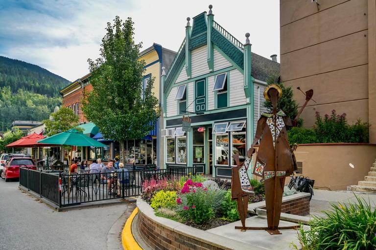 Modern Bakeshop , Cafe, patio, Revelstoke, British Columbia, Canada