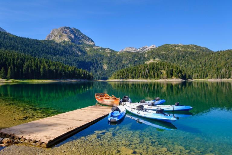 Black Lake, Crno jezero, Durmitor National Park, Zabljak Province, Montenegro