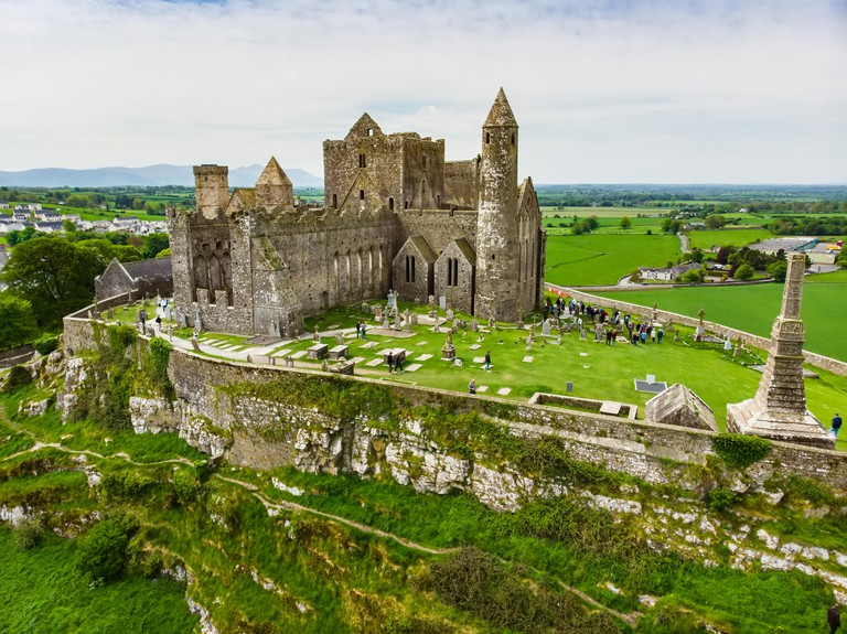 The Rock of Cashel, also known as Cashel of the Kings and St. Patrick's Rock, a historic site located at Cashel, County Tipperary. W6T057