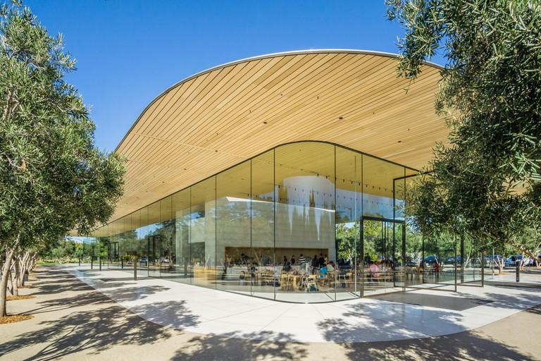The Apple Visitor Center in Cupertino, California