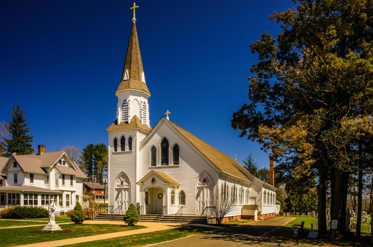 St Joseph?s Roman Catholic Church _ Chester, Connecticut, USA