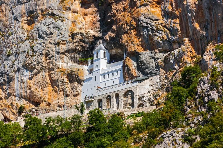 Ostrog monastery - Montenegro. Image shot 10/2018. Exact date unknown.