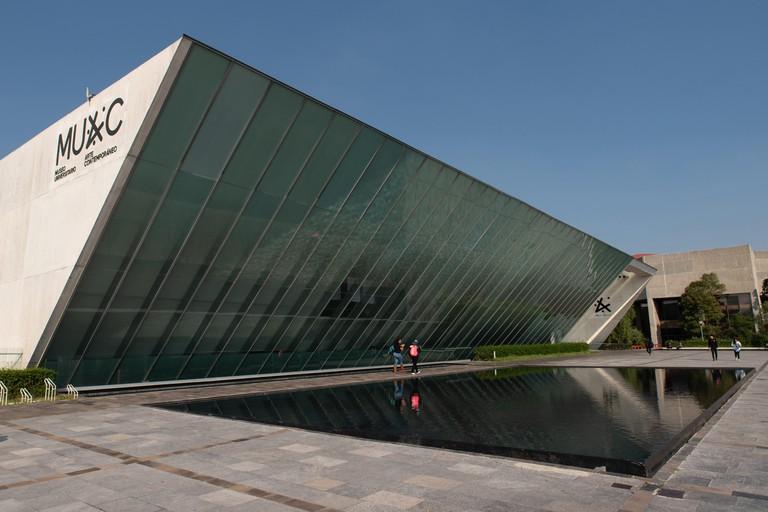 The Museo Universitario Arte Contemporaneo, is a large contemporary art museum on the campus of the UNAM. Opened in 2008. Architect: Gonzalez de Leon