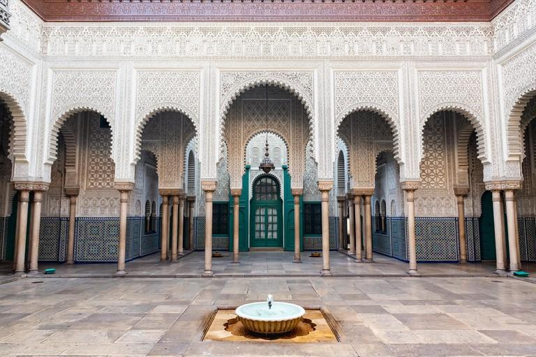 Historical court of Casablanca Mahkama du Pacha - Morocco