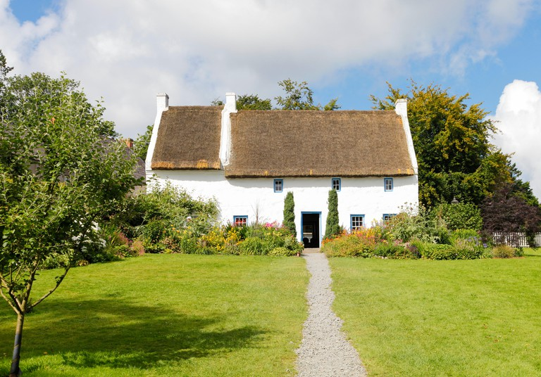 The Rectory, Ulster Folk Museum, Holywood, Northern Ireland