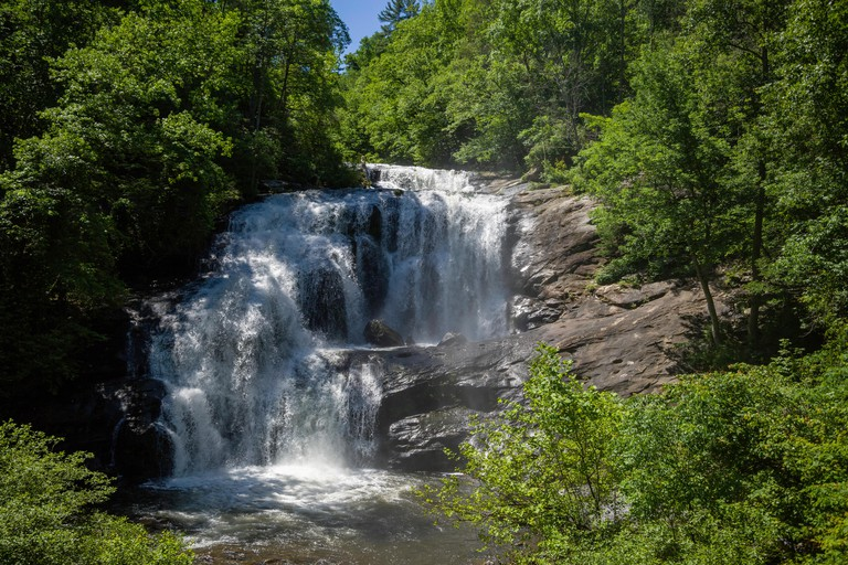 Bald River Falls in the Great Smoky Mountains