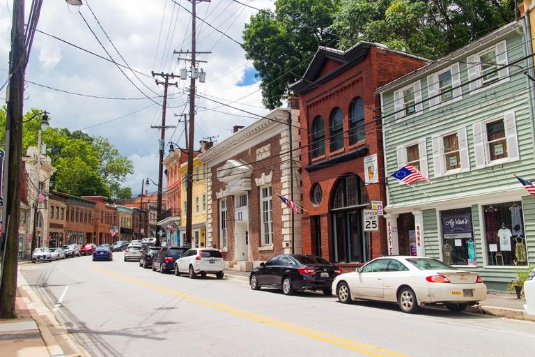 Old Ellicott City historic area