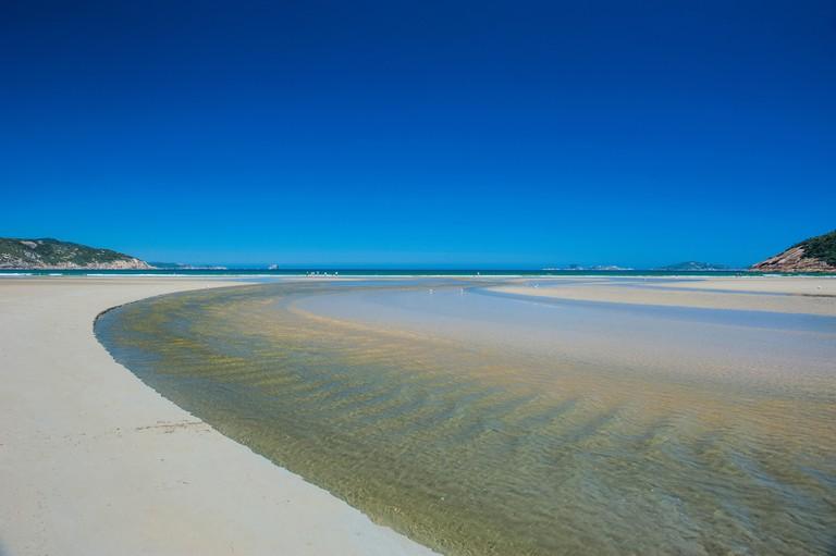 White sand beach, Wilsons Promontory National Park, Victoria, Australia